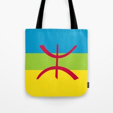Berber people ethnic flag egypt Tote Bag