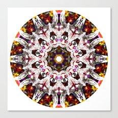 Donkey Flower Kaleidoscope  Canvas Print