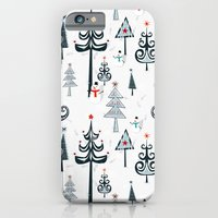 Christmas Tree Forest iPhone 6 Slim Case