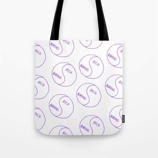 Rich / Boring Tote Bag