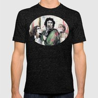 The Rocky Horror Picture… Mens Fitted Tee Tri-Black SMALL