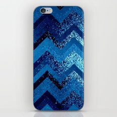 sparkly and dark blue adventure iPhone & iPod Skin