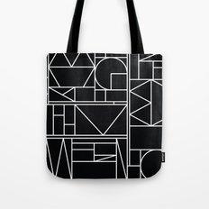 Kaku BW Tote Bag