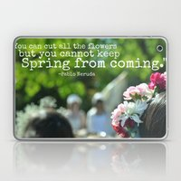 Cannot Stop the Spring Laptop & iPad Skin