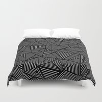 Abstraction Linear Duvet Cover