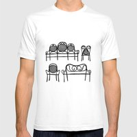 Tonet chairs Mens Fitted Tee White SMALL