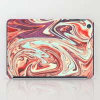 Abstract Texture Pattern 03 - Marbled iPad Case