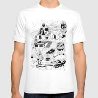 EL TANQUE CARCEDO Mens Fitted Tee White SMALL