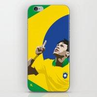 Neymar Brasil 2 iPhone & iPod Skin