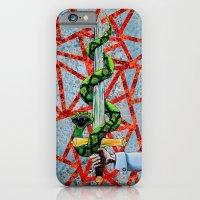 Hayes crest iPhone 6 Slim Case