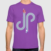 City Connection Mens Fitted Tee Ultraviolet SMALL