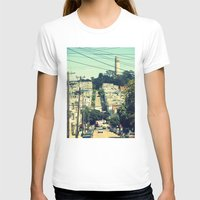 san francisco T-shirts featuring San Francisco by Mr and Mrs Quirynen