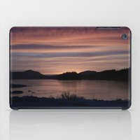 Frozen Sunset 4 - Pale L… iPad Case