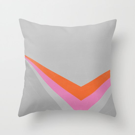 Sun on the wall Throw Pillow