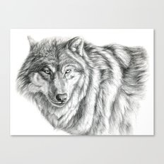 Wolf portrait G031 Canvas Print