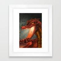 Nidhog Framed Art Print