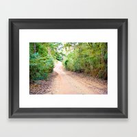 Road to Home Framed Art Print