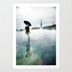 La Danse de la Pluie II Art Print