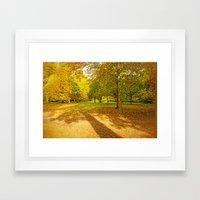 LEAF LULLABY Framed Art Print