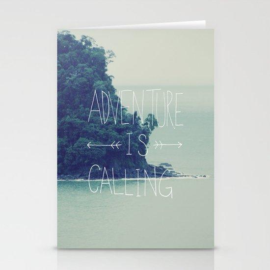 Adventure Island Stationery Card