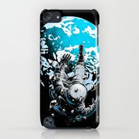 iPod Touch Cases featuring The Lost Astronaut  by carbine