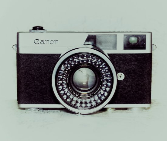 Film Camera Love: Canon Art Print