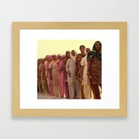 Bright India Framed Art Print