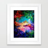 WELCOME TO UTOPIA Bold R… Framed Art Print