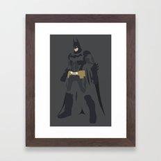 DC - BAT MAN Framed Art Print