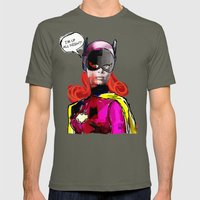 Batgirl Mens Fitted Tee Lieutenant SMALL