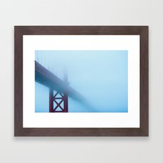 Into The Descent Framed Art Print
