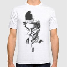 The Comedians Mens Fitted Tee Ash Grey SMALL