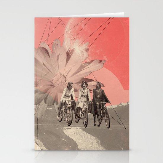 Les Femmes Stationery Card