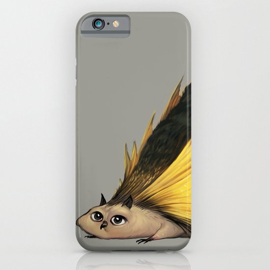 Golden Platypowl iPhone & iPod Case