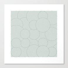 #495 Garden – Geometry Daily Canvas Print