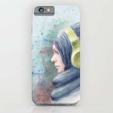 girl watercolor iPhone 6s Slim Case