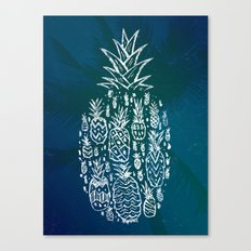 Pineapple Fields Forever Canvas Print