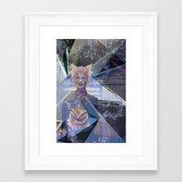 On The Edge Of Pretty Framed Art Print