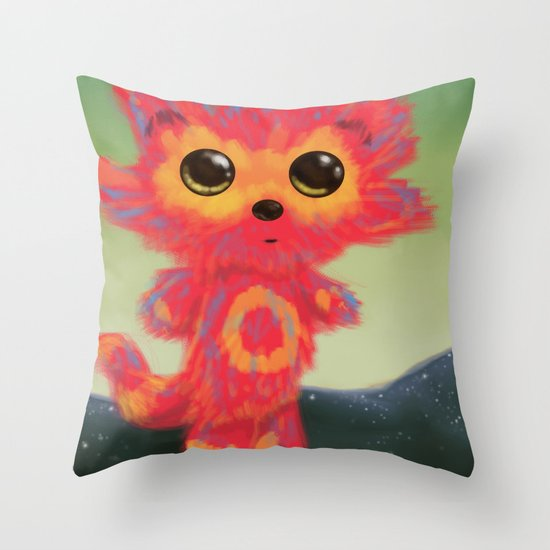 FRUMP Throw Pillow