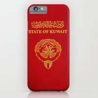 Kuwait PassPort Red Simple iPhone 6 Slim Case