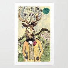 Stag Do Art Print