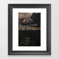 The Tell-Tale Heart Framed Art Print