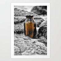 Message In A Bottle Swe… Art Print