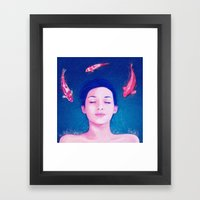 Science of Sleep Framed Art Print