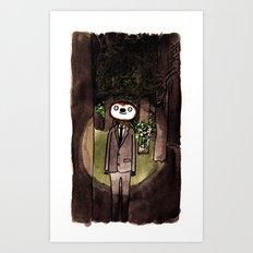 Slender Sloth Art Print