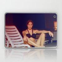 Night at the pool Laptop & iPad Skin