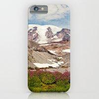 Mount Rainier Hike iPhone 6 Slim Case