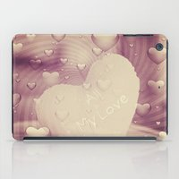 Luv Hearts iPad Case
