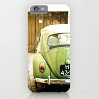 iPhone & iPod Case featuring Mrs Olive Green by Hello Twiggs