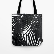 Palms Black Tote Bag